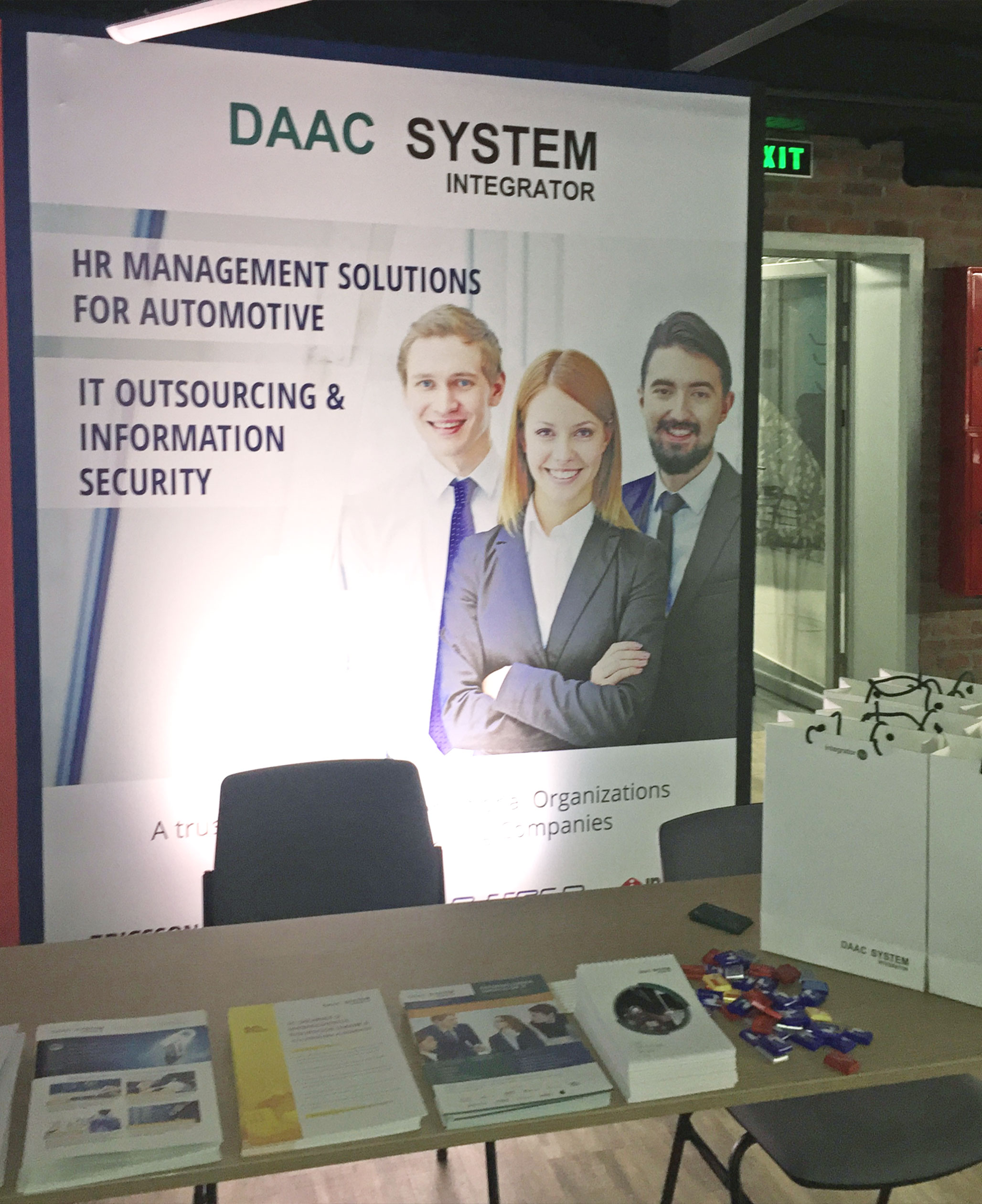DAAC System Integrator - IT Partner of the Moldova Automotive Days 2018 event